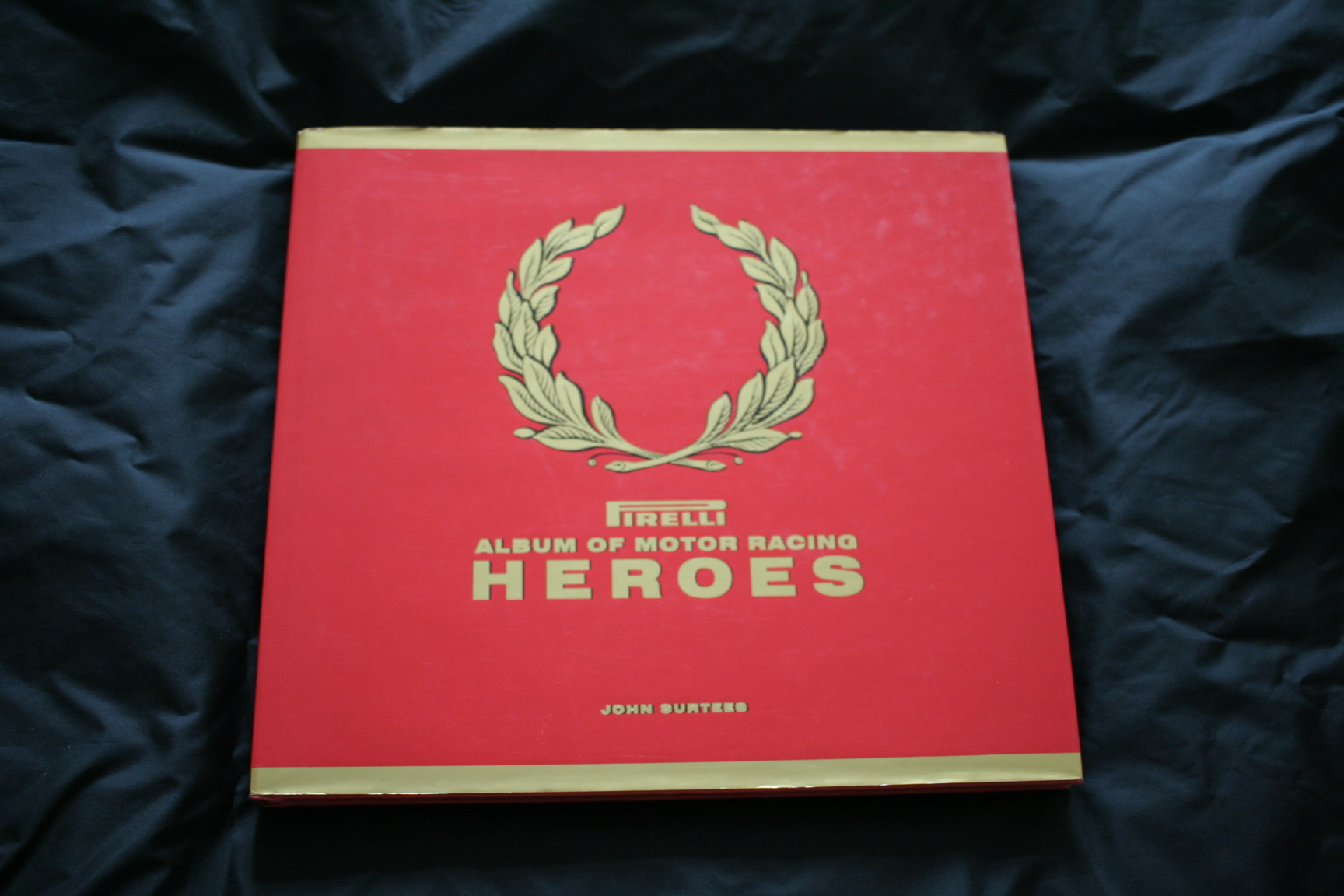 Pirelli Album of Motor Racing Heroes - John Surtees